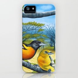 Surf Report iPhone Case