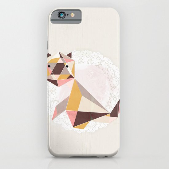 Geometric Cat iPhone & iPod Case