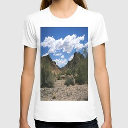 Red cloud mining district, Yuma, Arizona T-shirt