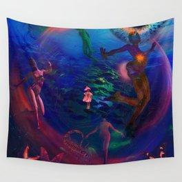 Ecology Dancer Wall Tapestry