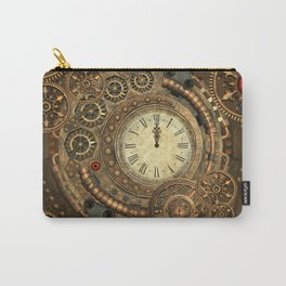 Steampunk, clockwork Carry-All Pouch