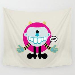 Hug? - Every creature needs love #009 Wall Tapestry