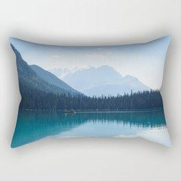 Afternoon on Emerald Lake Rectangular Pillow
