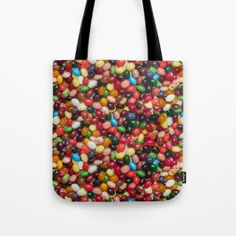Gourmet Jelly Beans Candy Photo Pattern Tote Bag