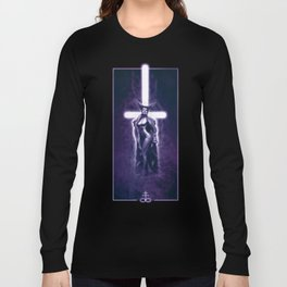 Lady Satanic Long Sleeve T-shirt