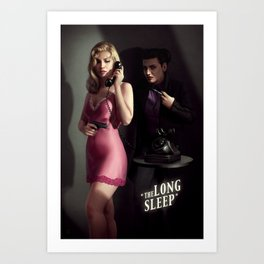 The Long Sleep Art Print