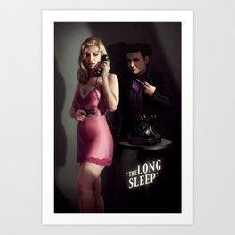The Long Sleep Art Print