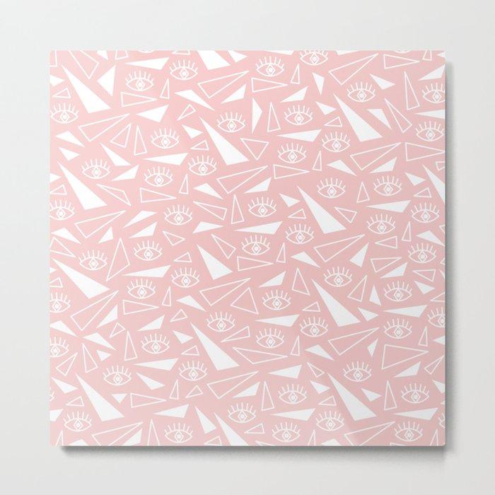 Eye of the Triangle Metal Print