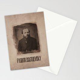 Fyodor Dostoevsky Stationery Cards