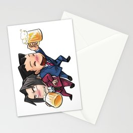 Cheers! Miles & Phoenix Stationery Cards