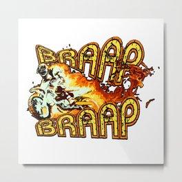 BRAAAP BRAAAP Metal Print