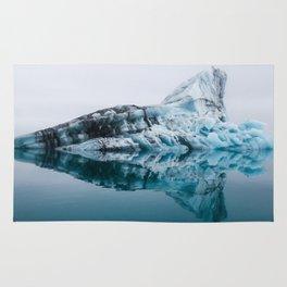 Jökulsárlón Glacier Lagoon Rug