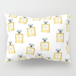 Classic Yellow Parfum Pattern Pillow Sham
