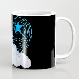 Unicorn black 1 Coffee Mug