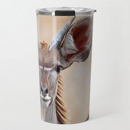 Young Kudu, Africa wildlife Travel Mug