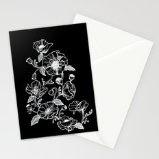 Black Poppies Stationery Cards