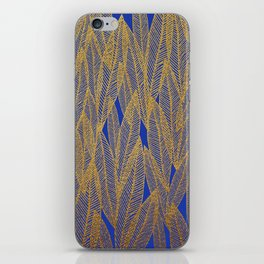 Golden Leaves iPhone Skin