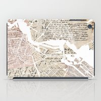 amsterdam iPad Cases featuring Amsterdam by Mapsland