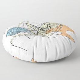 Brain Seperation Floor Pillow