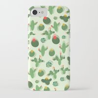 succulent iPhone & iPod Cases featuring Succulent by Kakel