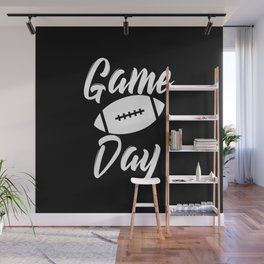 Game Day Football Wall Mural
