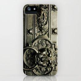 Lion Door iPhone Case