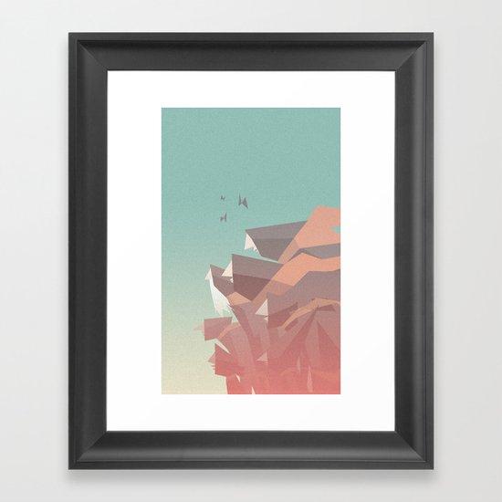 Between Bears Framed Art Print