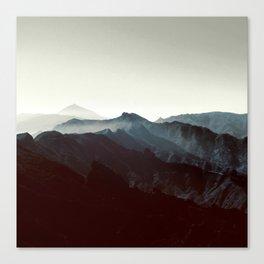 Montañas de Anaga Canvas Print