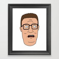 Damn it, Bobby. Framed Art Print