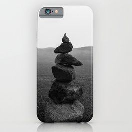 Balance and Rocks  iPhone Case