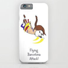 Flying Barcelona Attack Slim Case iPhone 6s