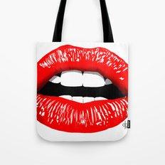 Sexy Lips Tote Bag