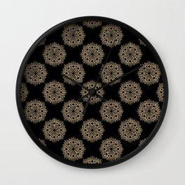 Vintage pattern 3 Wall Clock