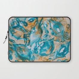 Blue Crabs Together 2 Laptop Sleeve