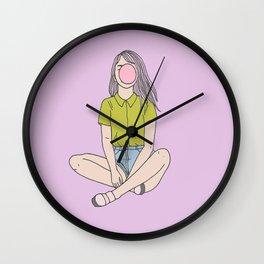 Bubblegum Wall Clock