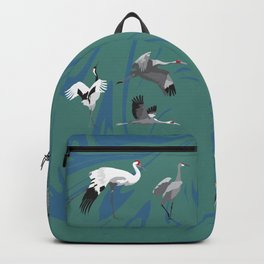 Cranes of the World Backpack