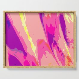 Explosive Abstraction Serving Tray