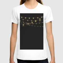 Gold rich Glitter Chain- Treasure Sparkle T-shirt