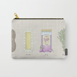 Peanut Butter Jelly Thyme Carry-All Pouch