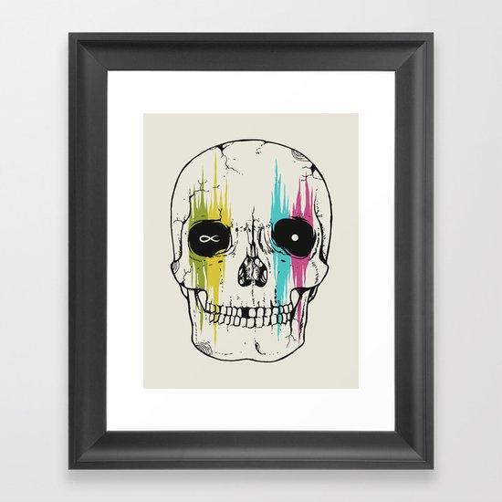 It All Ends Framed Art Print