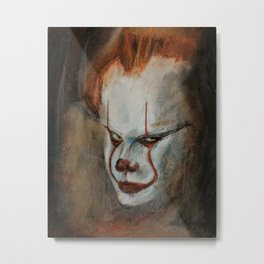 Portrait of Pennywise Metal Print