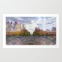 Trees in the Midst Art Print