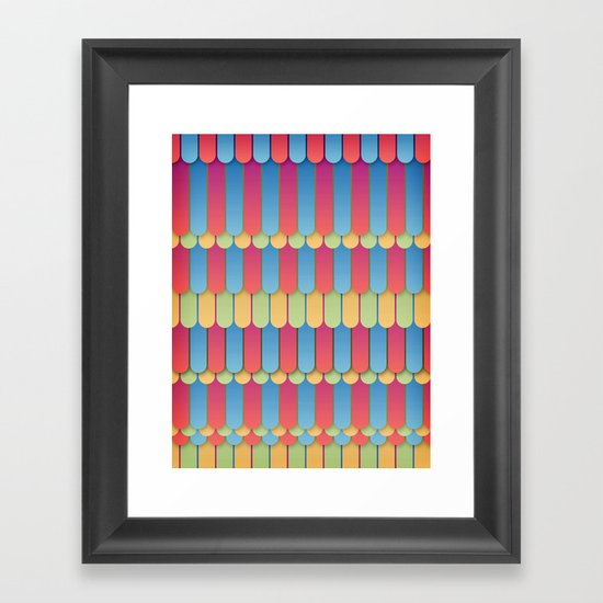 Abstract 18 Framed Art Print
