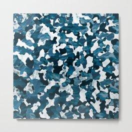 Surfing Camouflage #3 Metal Print