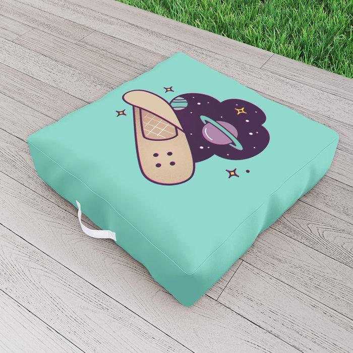 Scar Tissue Outdoor Floor Cushion
