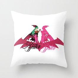 Sister Sister Throw Pillow