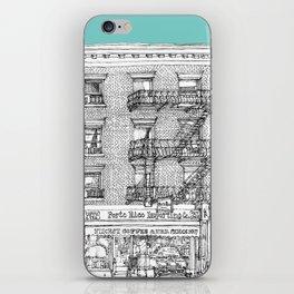 PORTO RICO IMPORT CO, NYC iPhone Skin