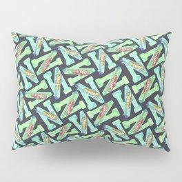 Illustrative Letter N for Newt Pillow Sham