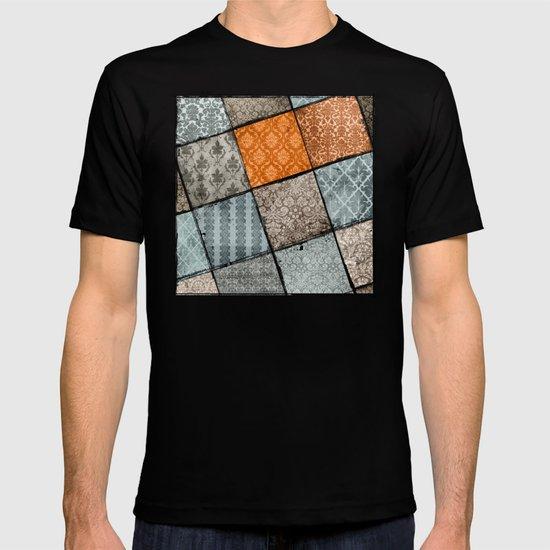 Vintage Material Quilt T-shirt