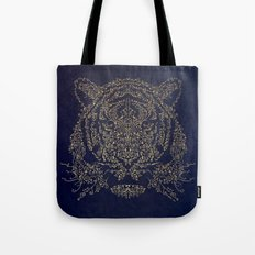 Ornamental Tiger Tote Bag